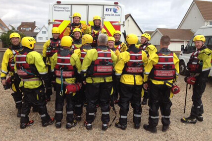 Water Rescue Team Ready to Deploy