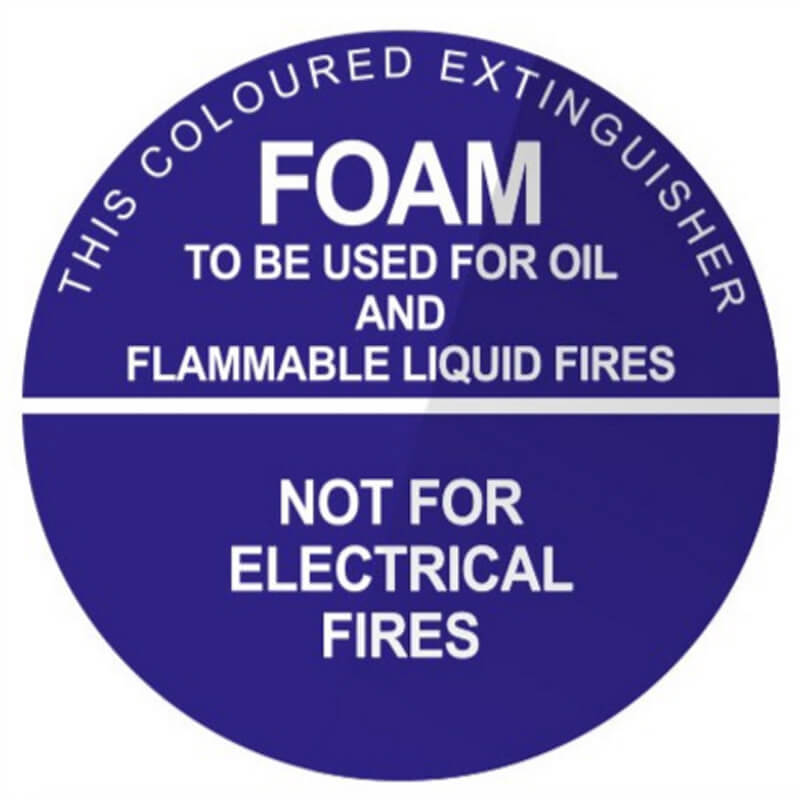 Foam - Identification Sign