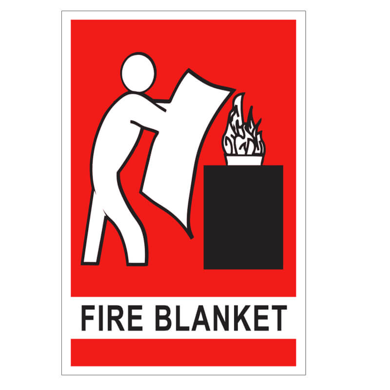 Fire Blanket Location Sign - Small