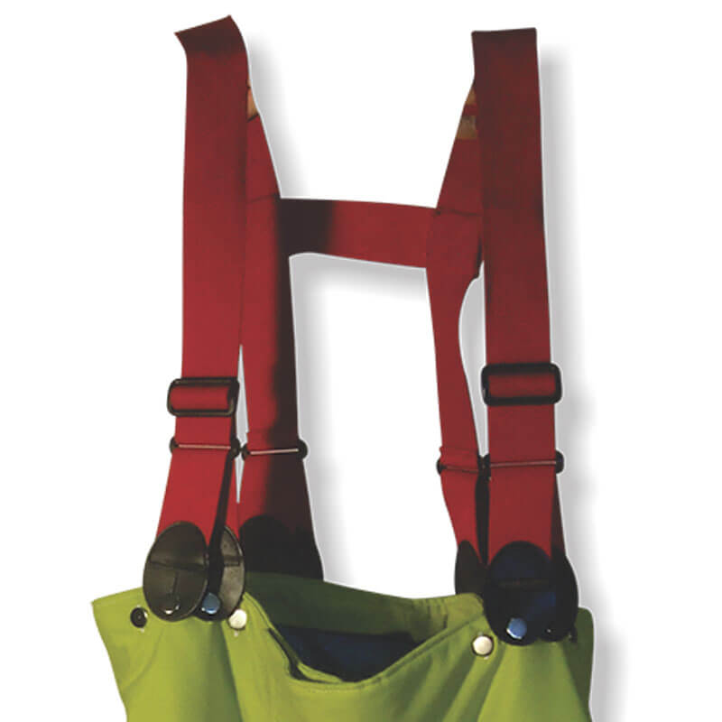 S&H T340 Fire Braces - Red