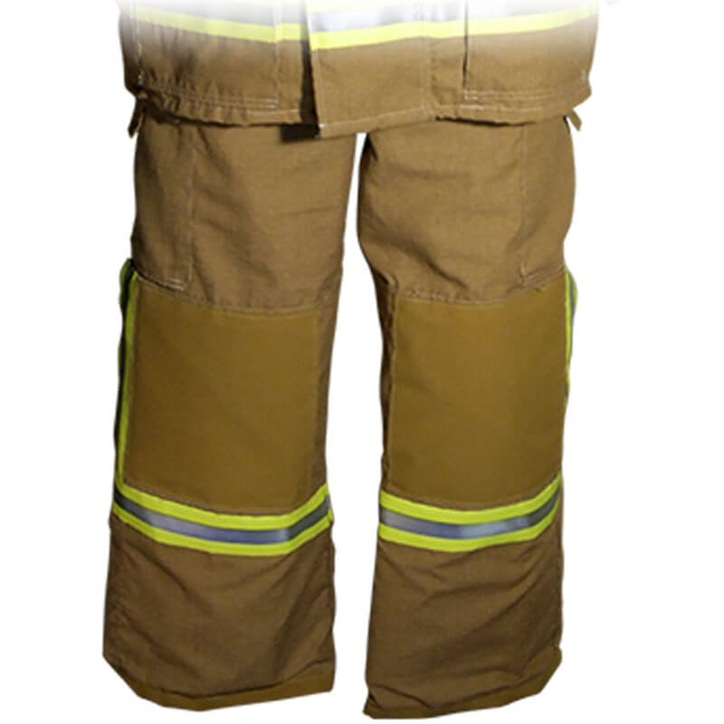 S&H Fire Trouser T469 Structural Level 2 - PBI Gold with MB