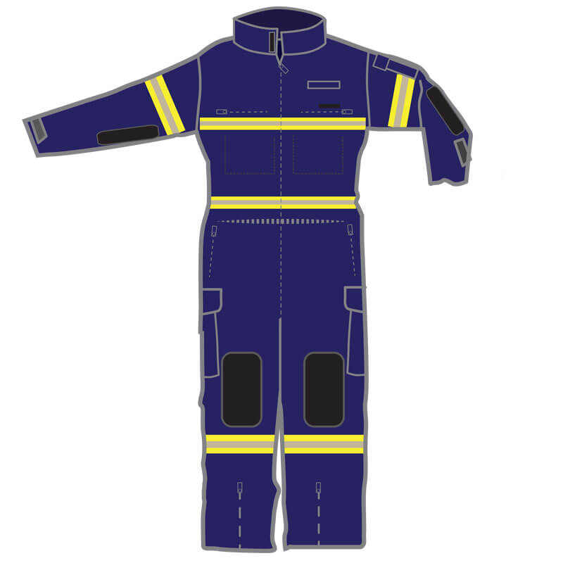 S&H FRSA Coveralls Rescuepro 2 - Navy