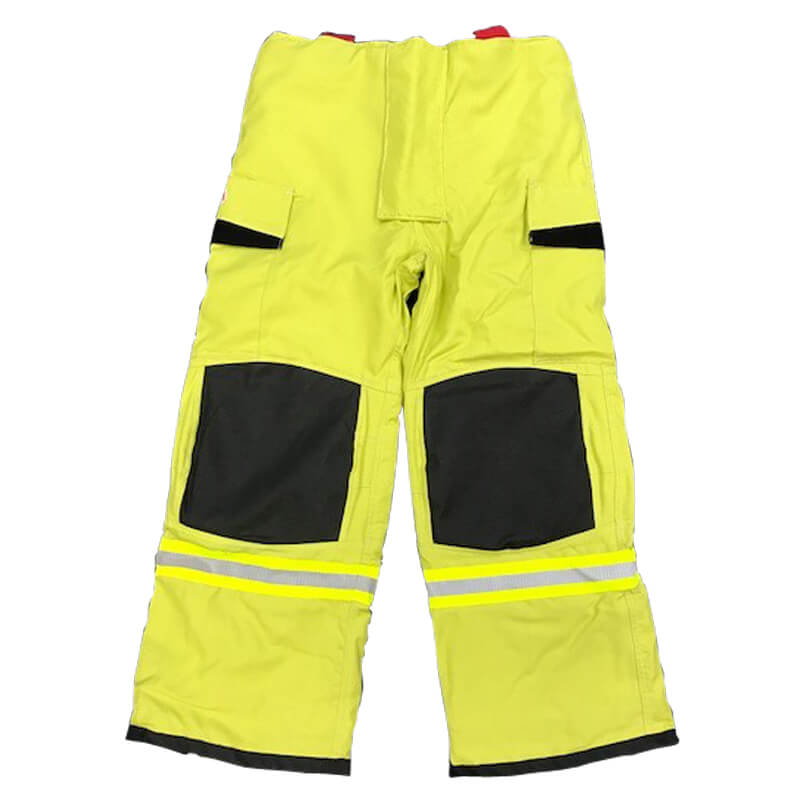 S&H Fire Overtrouser/Pant T735 Structural Level 2 - Protex Lime Green