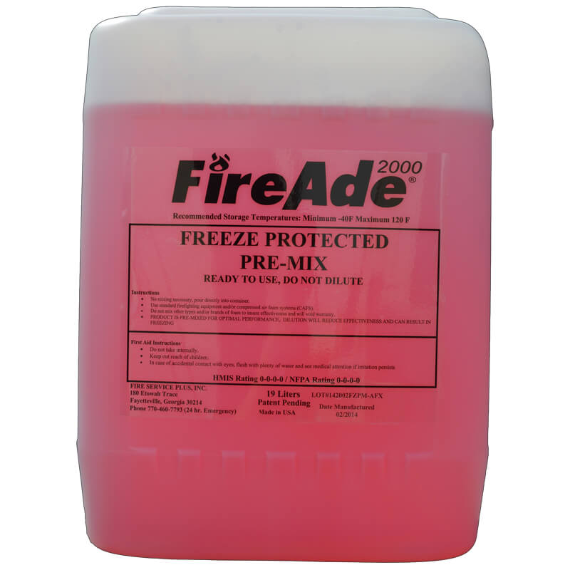 FireAde Freeze Protected Pre-Mix - 19Ltr Pail