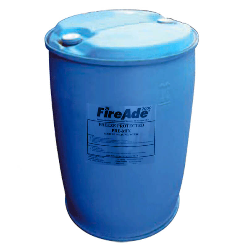 FireAde Freeze Protected Pre-Mix - 200Ltr Drum