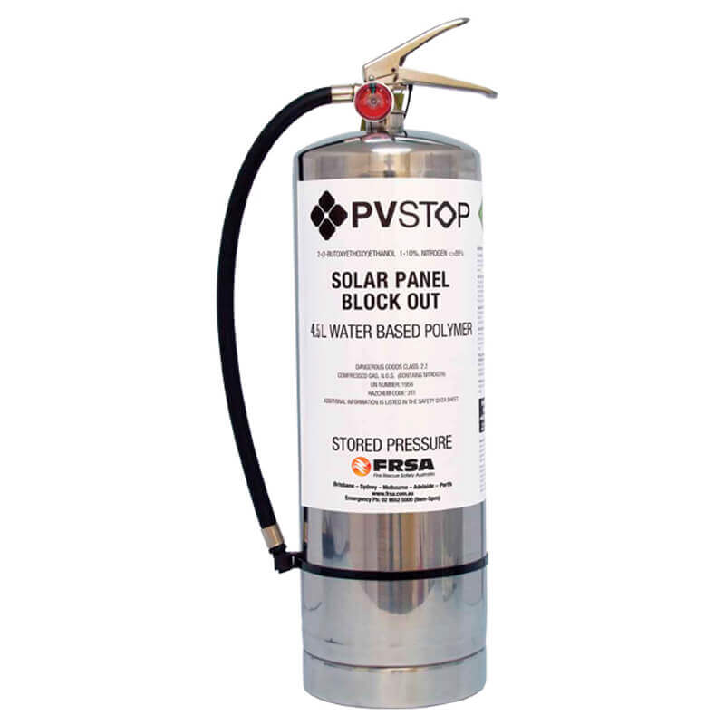 PVStop 4.5L Stored Pressure Canister