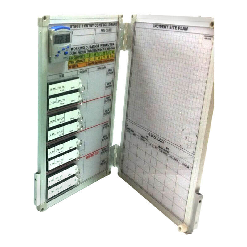 BA Tally Board with Tags - DFES Spec