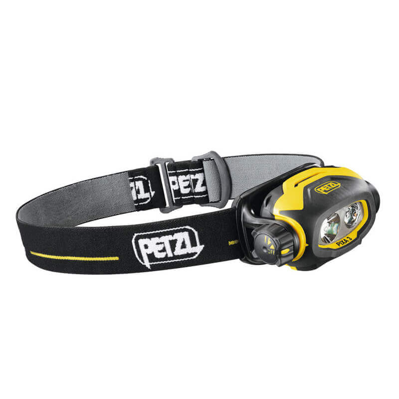 Petzl PIXA 3 - Head Torch - Black/Yellow
