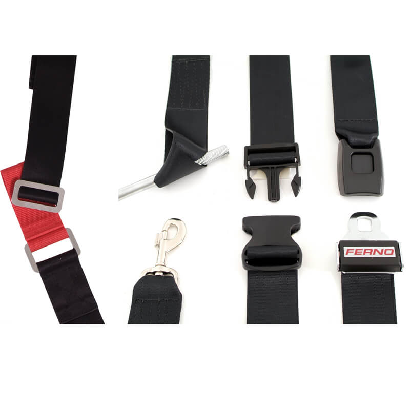 Velcro One-piece restraint with speed clip connectors