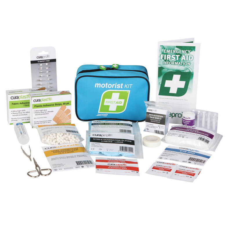First Aid Kit- Compact - Motorist - Soft Pack