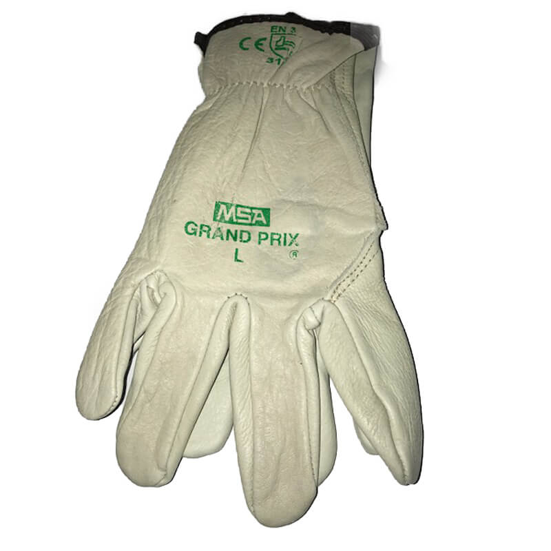 Grand Prix Leather Riggers Glove - Size Large