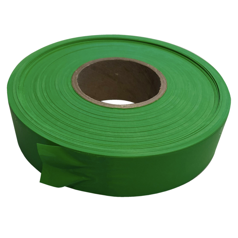 Roll Of 100m X 25mm Of Fluoro Green