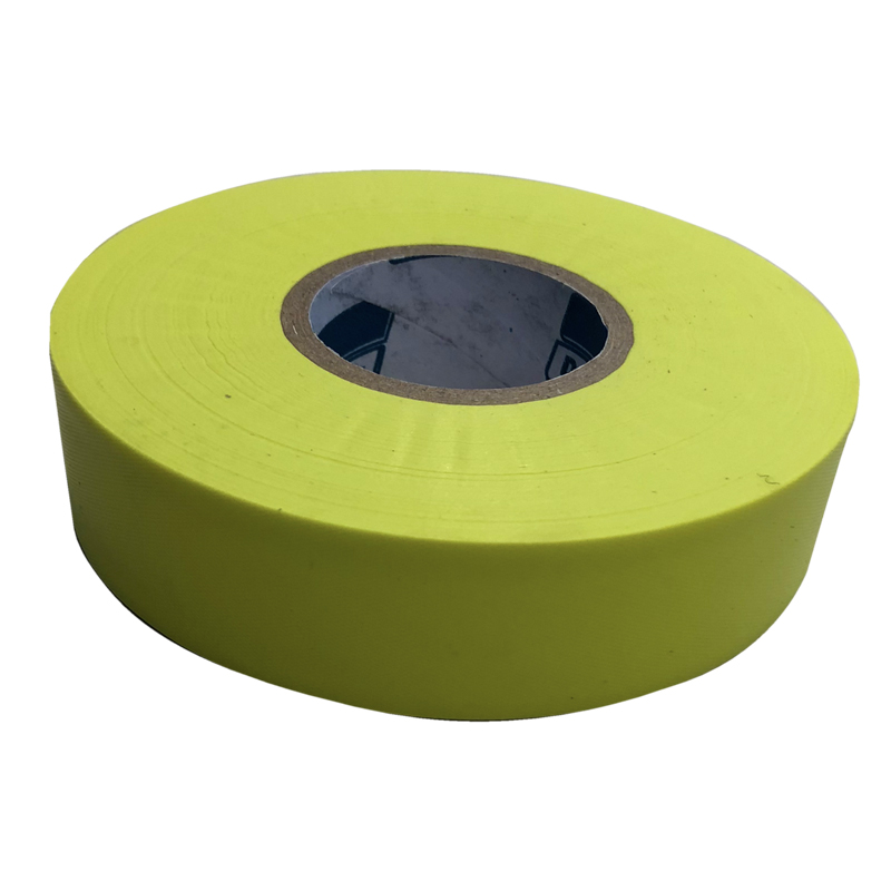 Roll Of 100m X 25mm Of Fluoro Yellow