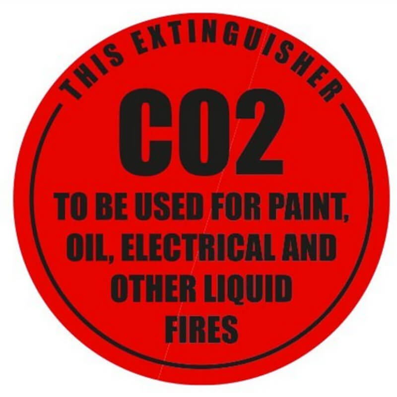 CO2 - Identification Sign