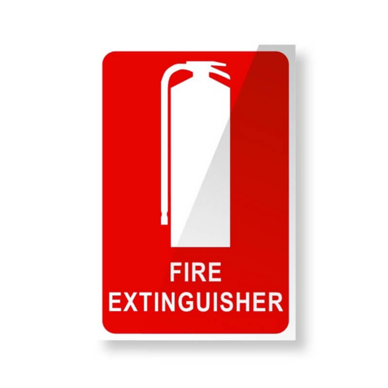 Fire Extinguisher Location Sign - Small