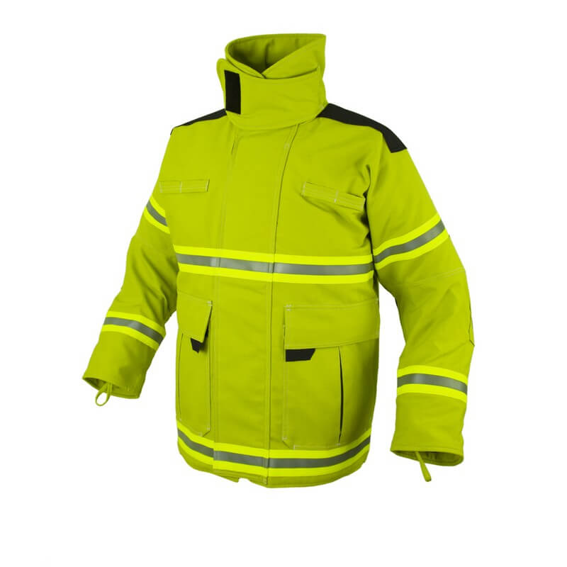 Structural Fire Coat - E Series - Nomex Fortress 3D Reinforced
