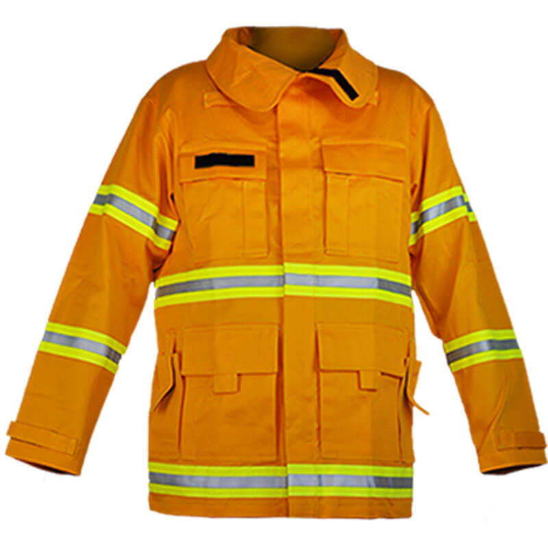 S&H Fire Coat J545 Wildland Jacket Level 1 - Protex Gold