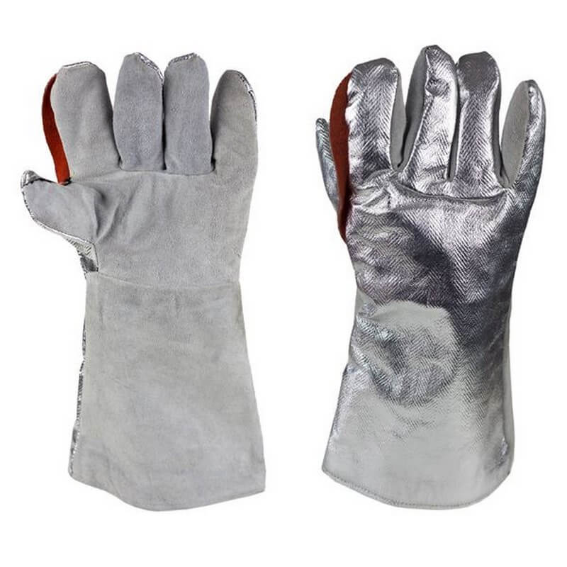 MagnaShield Glove - Aluminised Preox Back - Leather Palm