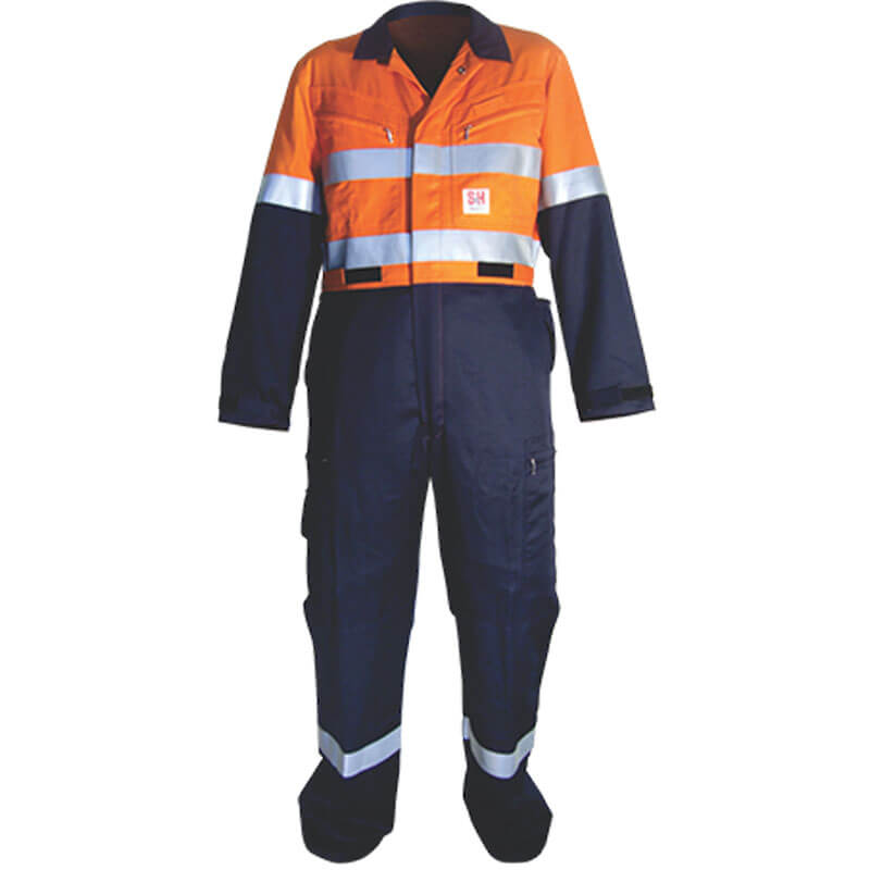 S&H Coverall XRI C170-PRO Protex - Orange/Navy