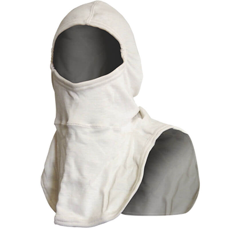 Flashhood, Structural, White (Nomex Blend) - NFPA Approved