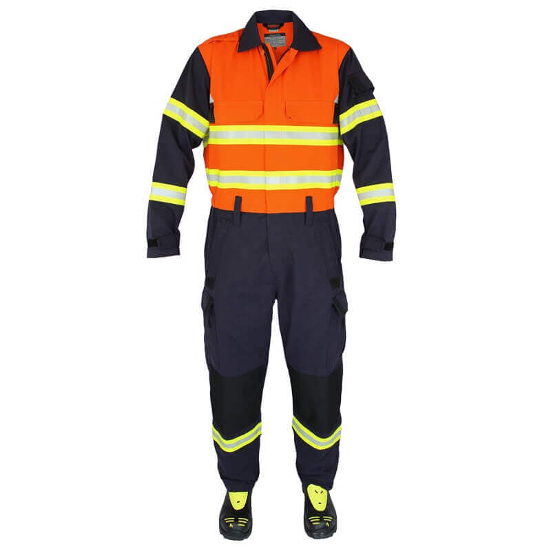 FRSA Coveralls - Rescue Arrow - Orange/Navy