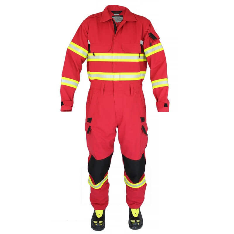 FRSA Coveralls - Rescue Arrow - Red