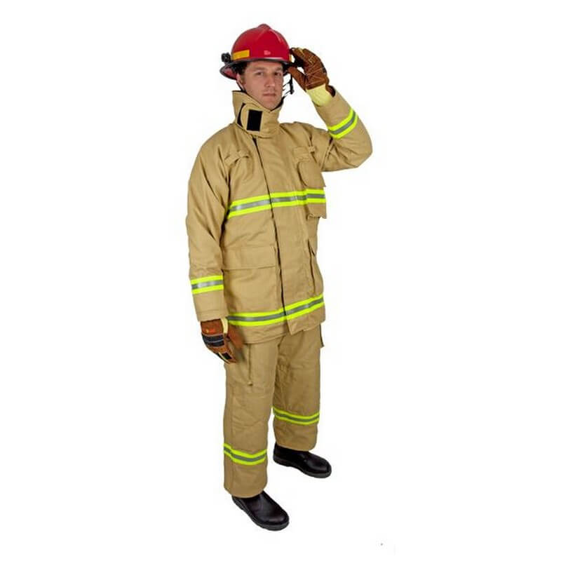 Structural Fire Trouser -E Series PBI Gold/T-Gard II