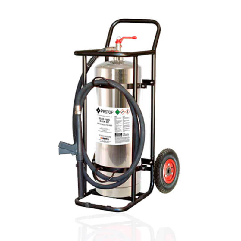 PVStop 70L Mobile Extinguisher c/w Trolley