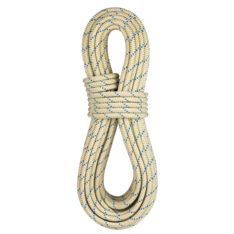 Blue Water Rope II++ Static 11.2mm - Gold/Bl - 50m