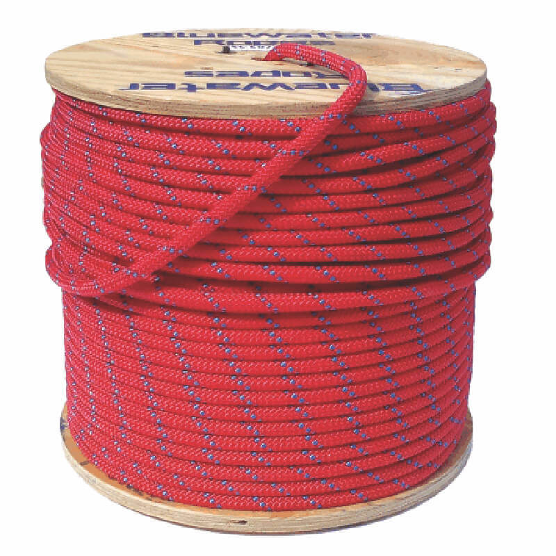 Blue Water Rope Assaultline++ 11.2mm - Red/Bl - 100m