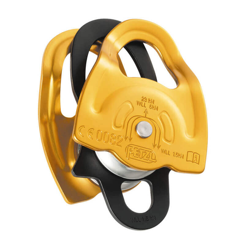 Petzl Gemini Pulley - Gold