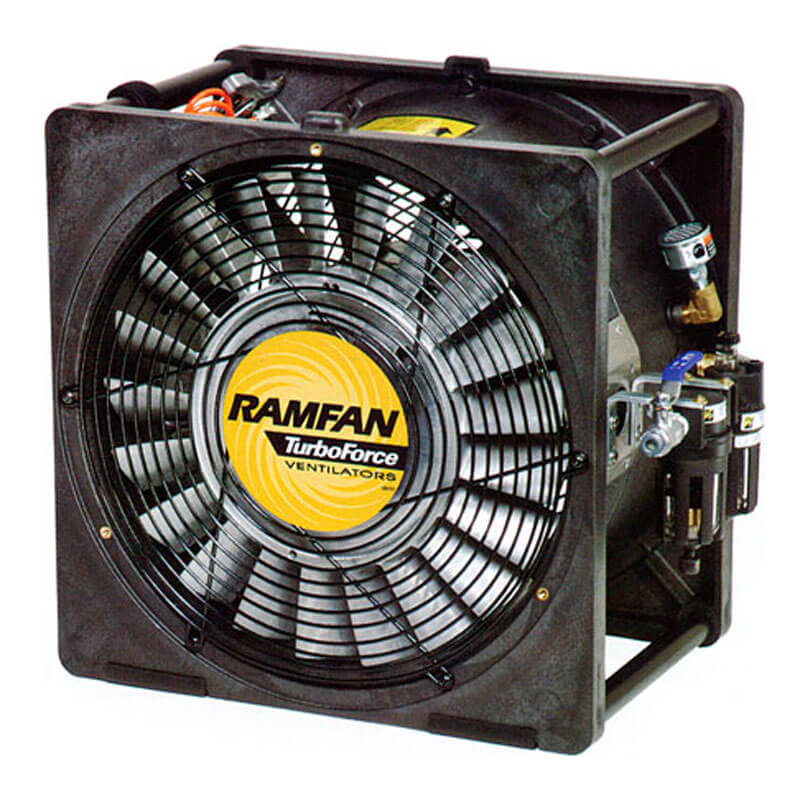 RamFan AFi50XX (Air Driven) Blower/Exhauster - 16 Inch