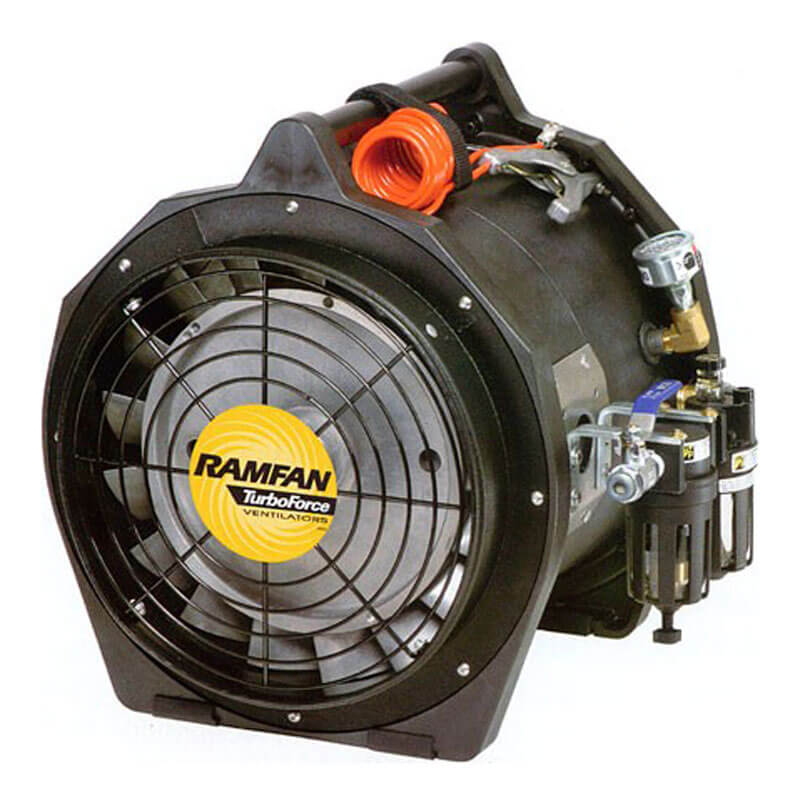 RamFan AFi75XX (Air Driven) Blower/Exhauster - 12 Inch