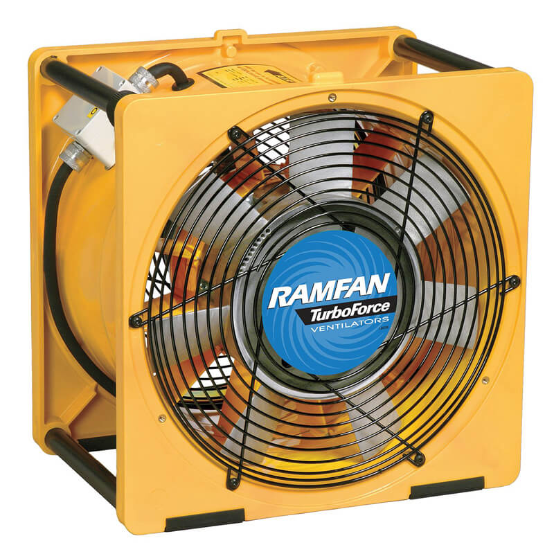 RamFan EFi150 (Electric) High Blower/Exhauster 16-Inch (1.5Hp)