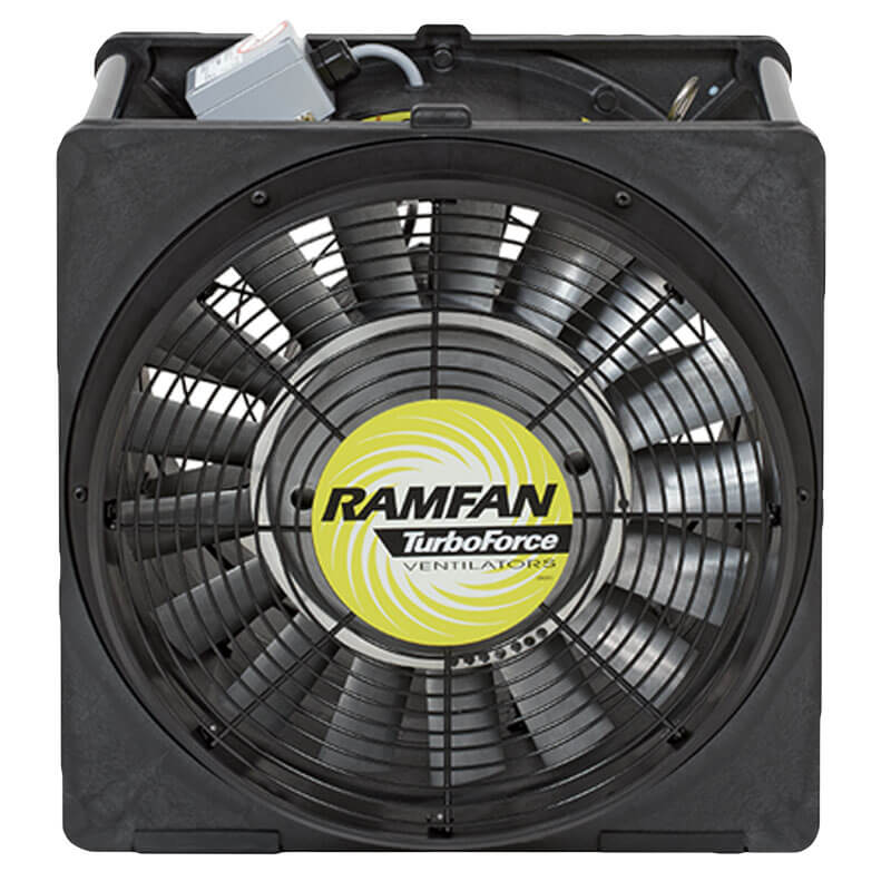 RamFan EFi50xx (Electric) Blowers / Exhausters - 16 Inch