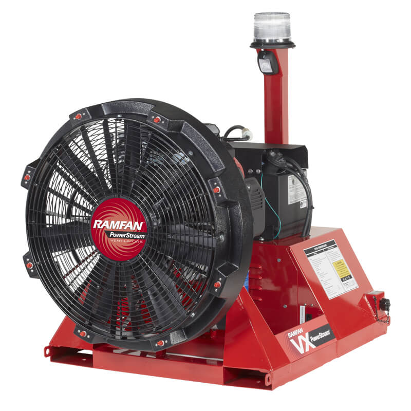 RamFan (Petrol) VX700 (Skid Mounted) 28-Inch LSV Blower / Ventilator
