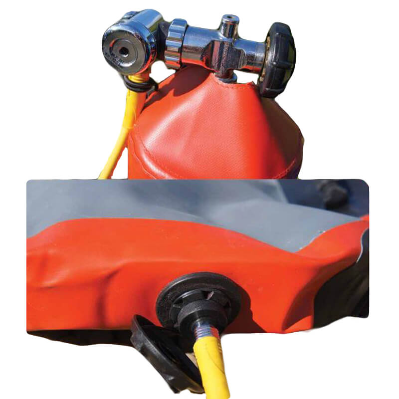 ResQPath APEX Regulator with inflation hose