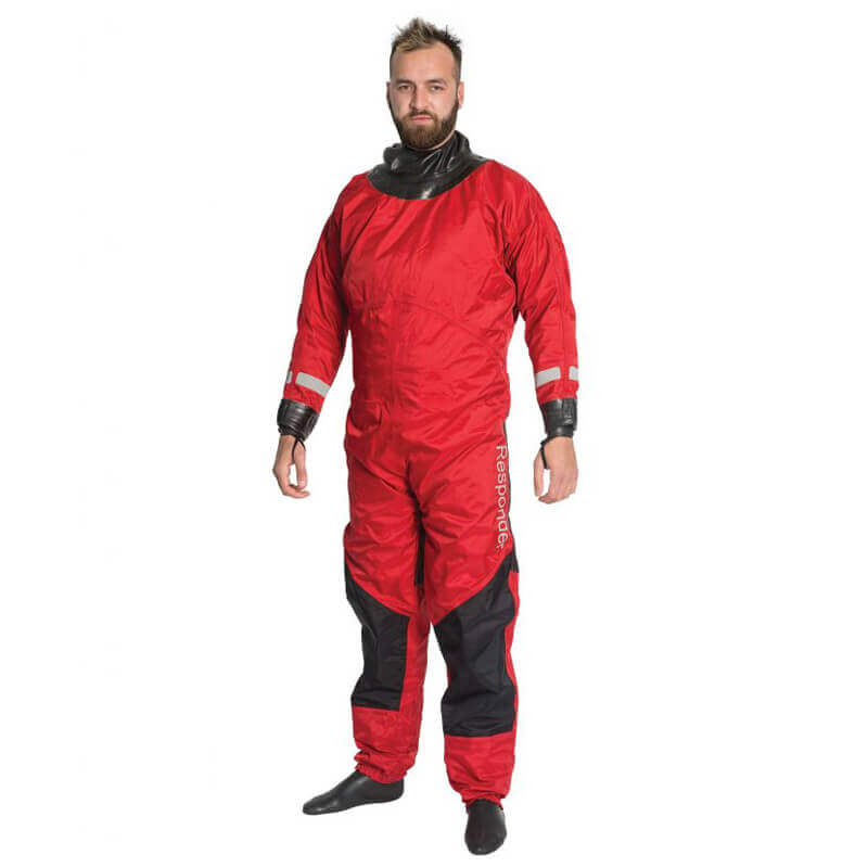 Water Rescue Responder Back Entry Drysuit