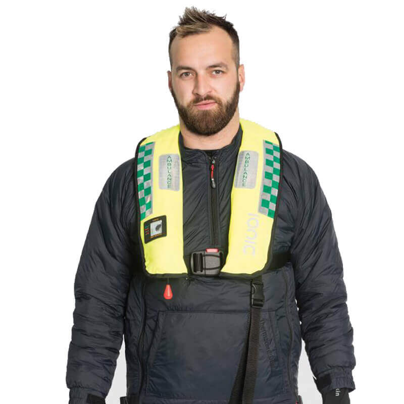 Water Rescue Medi-Safe 275N Auto Lifejacket