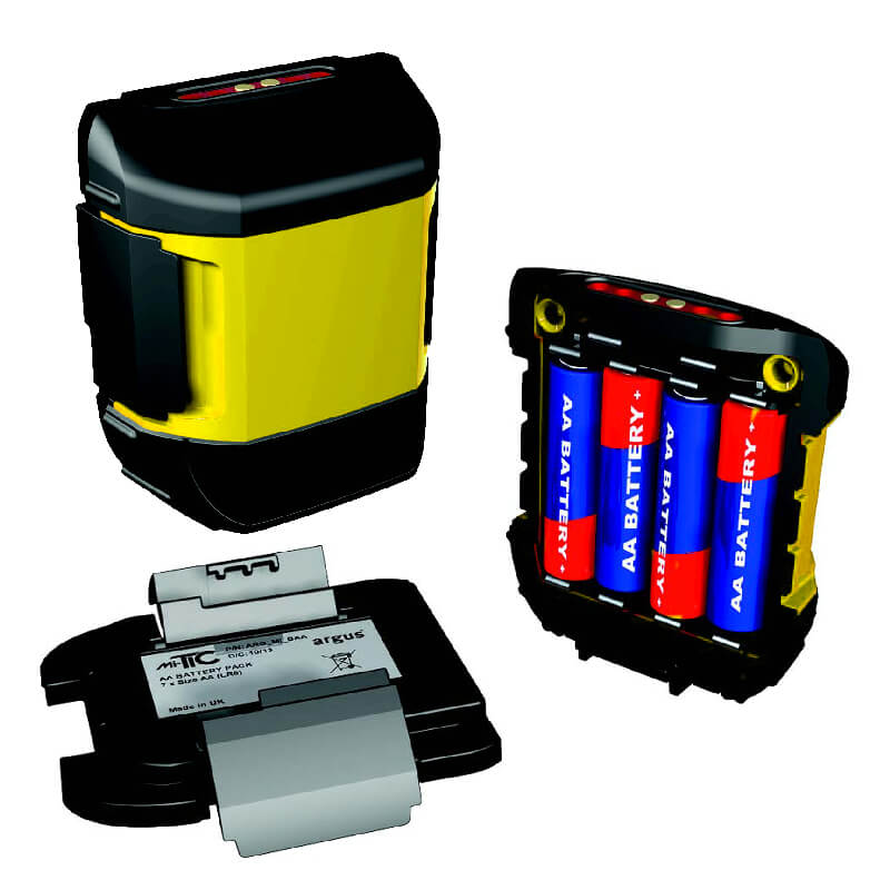 Argus Mi-TIC Alkaline Battery Pack