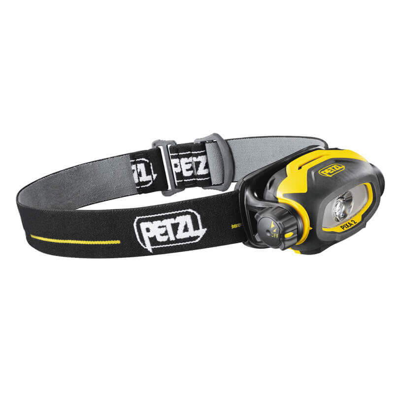 Petzl PIXA 2 - Head Torch - Black/Yellow
