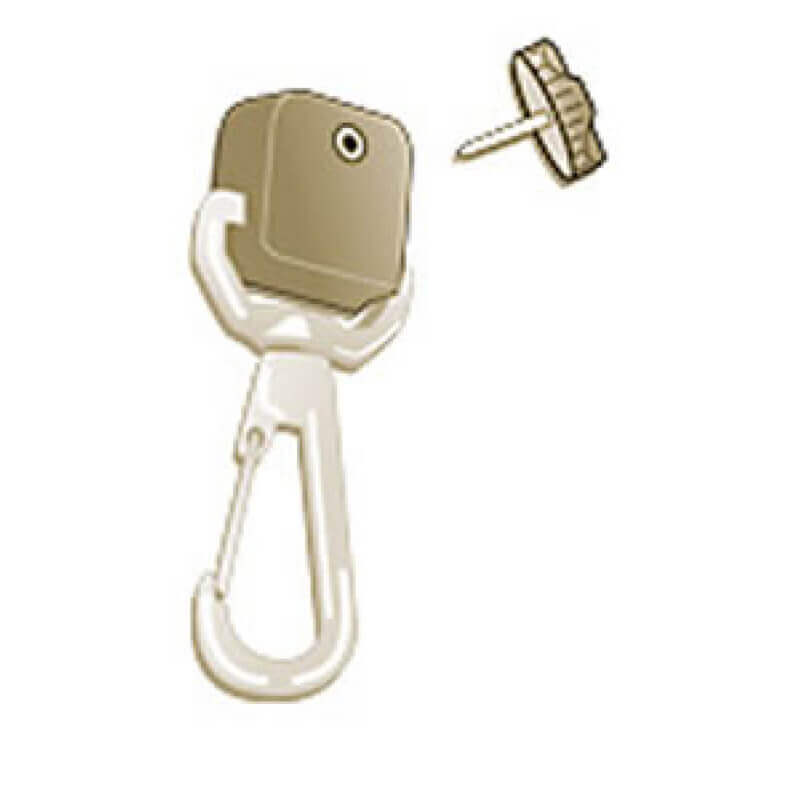 Gear Keeper - Add-A-Clip - SS Rotating Snap Clip