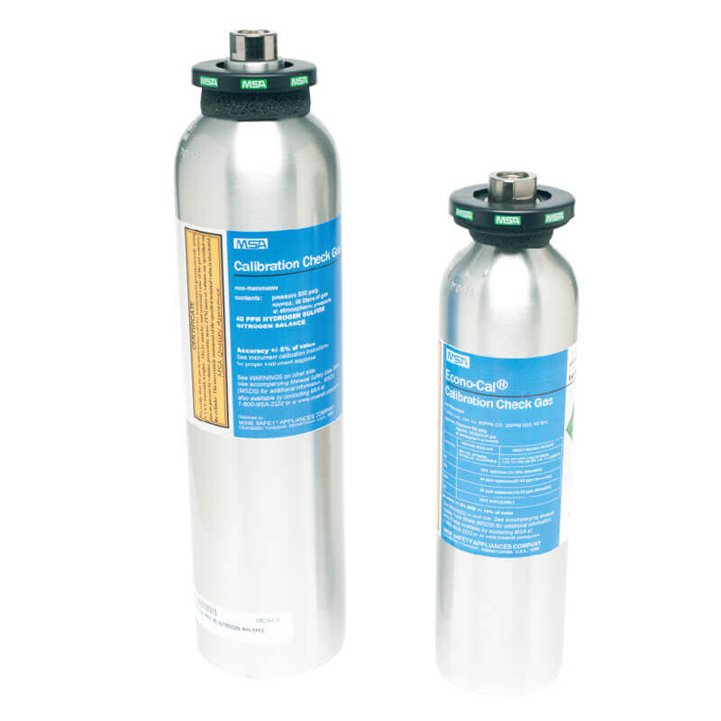 Calibration Gas - 4 Gas - 34 Litre