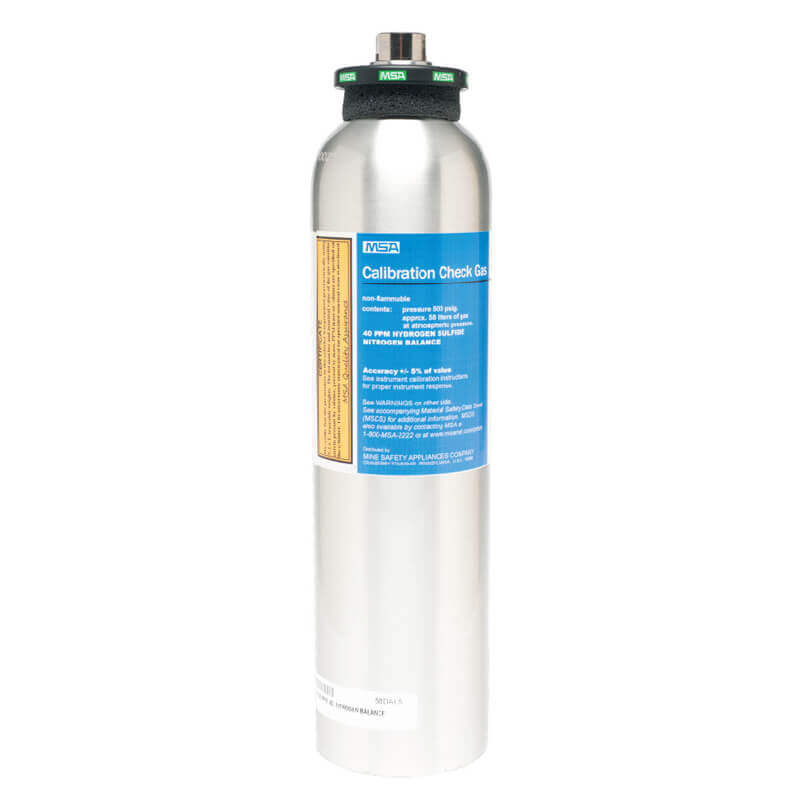Calibration Gas - 4 Gas - 58 Litre