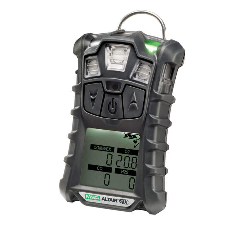 MSA Altair 4X Gas Detector - Charcoal