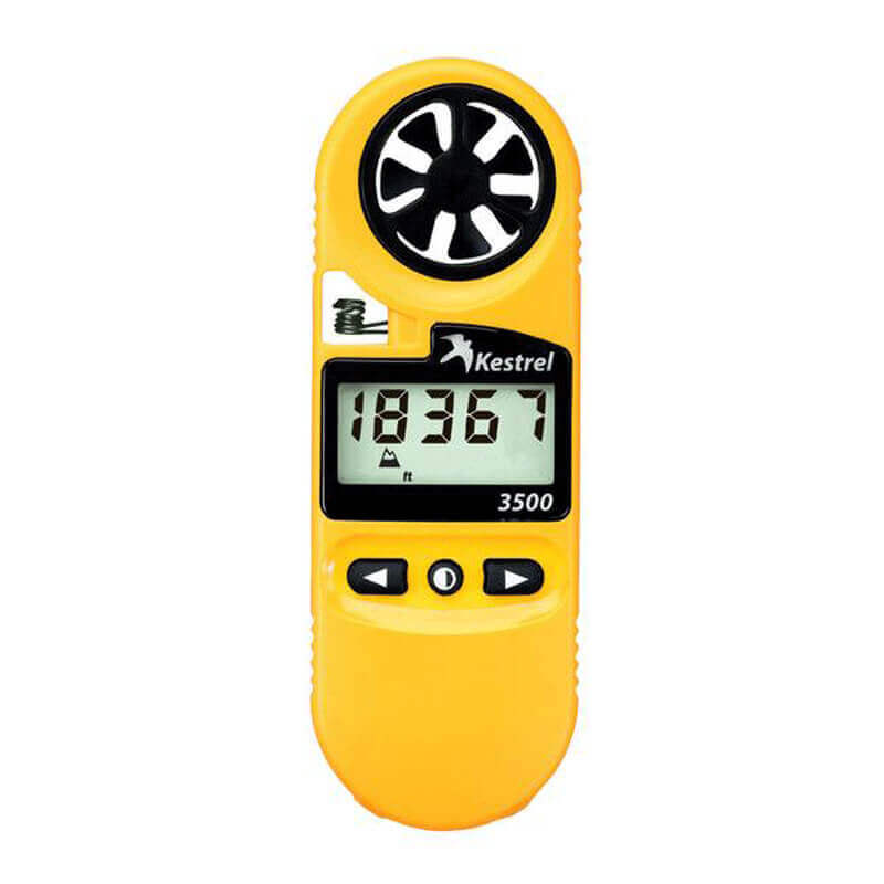 Weather Meter 3500 - Model 0835 Yellow