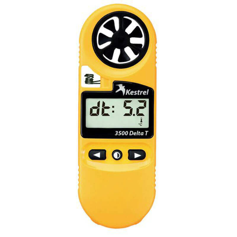 Weather Meter Delta T-3500 - Model 0835DT Yellow