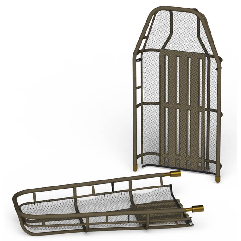Traverse Titan Titanium Basket Stretcher Split Version