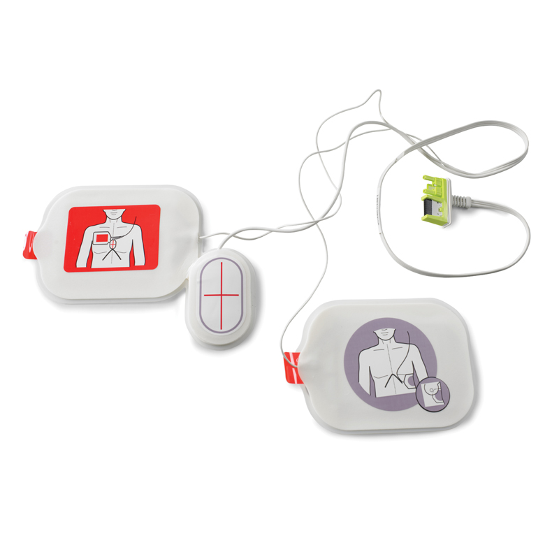 AED Plus - CPR Stat-padz adult electrodes