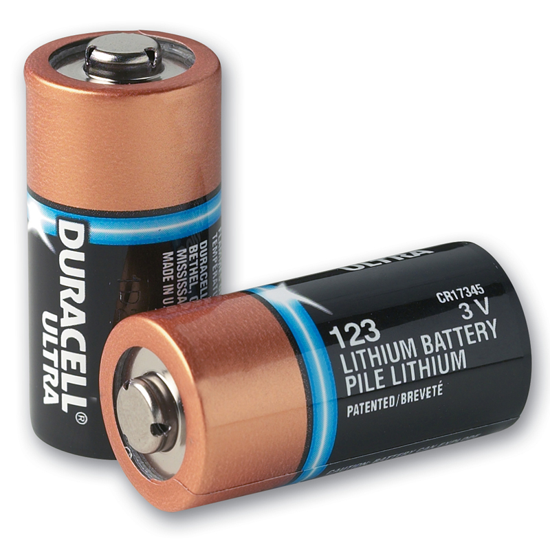 Type 123A Lithium Batteries - Pack